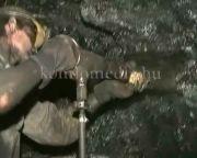 Komlói bányászat felvételek (felirattal)