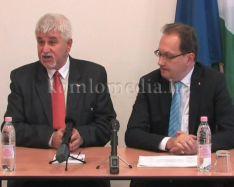 A tavalyi évet értékelte a polgármester és az államtitkár (Polics József, Hoppál Péter)
