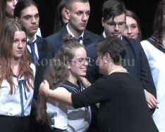 A Nagy László gimnázium szalagavató ünnepsége 2018