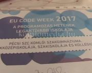 Pár mondatban a Code Week-ről (Takácsné Ludvig Ottília, Appl Szilvia)
