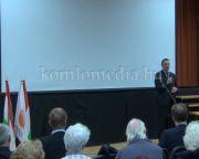 Lakossági fórumot tartottak Kozármislenyben (Dr. Hoppál Péter, Dr. ifj. Lomnici Zoltán)