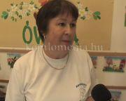 Bemutatkoznak városunk oktatási intézményei - A körtvélyesi tagóvoda (Singovszkyné Herendi