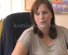 Szociális projekt fejeződött be Komlón (Elmontné Popán Ildikó, Polics József)