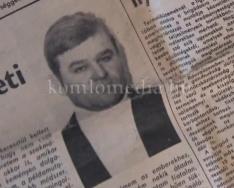 Egy hithű bányász a komlói közéletben (Deák Imre)