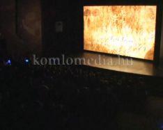 Megtelt a színház a II. Hét Domb Filmfesztivál első napjain (Karagity István)