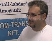 Bajnoki fordulót rendeztek városunkban az asztali labdarúgók (Gyozsán Zoltán)