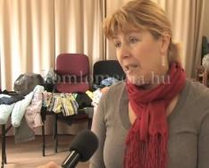 Ingyenes ruhaturit tartottak a rászorulóknak (Dr. Barbarics Ildikó)