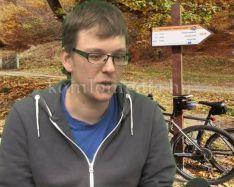 Sikeres évet zár a túrákat szervező komlói kerékpáros (Tóth Márió)