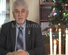 A polgármester karácsonyi köszöntője (Polics József)