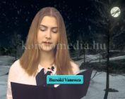 Vers - Juhász Gyula - Karácsony felé (Buzsáki Vanessza)