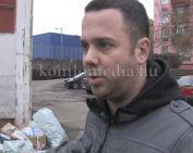 Újabb szemétkupac, most az egyik trafóháznál (Szeitz Gábor)