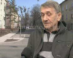 Új buszmegállót kaptak a Gorkij utca lakói (Dezső Károly)