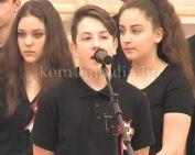 A Kodály Zoltán Ének-zenei Katolikus Ált. Iskola ünnepi műsora