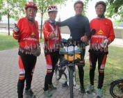 Könyv jelenik meg a komlói kerékpáros kalandjairól (Szinyákovics Béla)