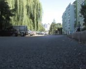 Új aszfaltréteget kapott a teljes Bajcsy-Zsilinszky utca