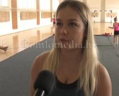 Edzőtáboroznak a ritmikus gimnasztikás lányok