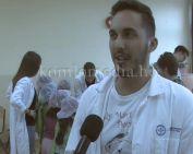 Mackódoktorok látogattak a Gagarin iskolába (Glavatity András)