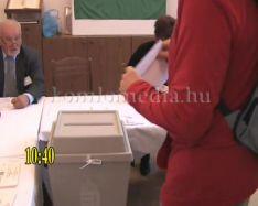 A kenderföldi megismételt választások - percről-percre