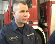 Belügyminiszter tüntetett ki két hősies komlói tűzoltót