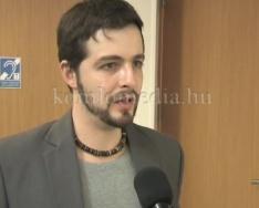 A soproni Petőfi Színház művészei tartottak előadást (Papp Attila)