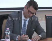 Vállalkozói fórumot tartottak a városházán (Polics József)