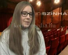 A Komlói Színház kultúrvloggere (Varga Enikő)