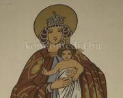 Gyümölcsoltó Boldogasszony szentmise felvételről
