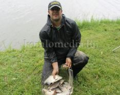 Komlói horgász az ország 40 legjobbja között (Bartos Dávid)