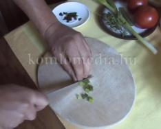 Gasztro-percek - Ízletes saláta (Ratkó Lajos)
