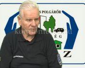 Kitüntetést kapott a Komlói Polgárőr Egyesület elnöke (Deák Imre)