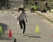 Hegyi futóversenyt szerveztek általános iskolásoknak (Fülöp Tamás)