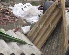 Illegális szemétlerakót talált egy komlói túrázó (Tóth Zsolt)