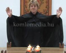 Karácsonyi református istentisztelet (Görgey Etelka)