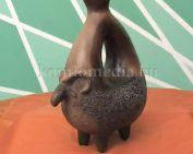 Bronzkori kerámiákat készít egy pécsváradi hölgy (Szalma Valéria)
