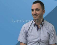 Bemutatkozik a komlói Városgondnokság új vezetője (Bareith Péter)
